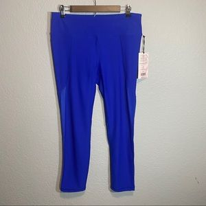 NWT 90 Degree Electric Royal Blue Legging